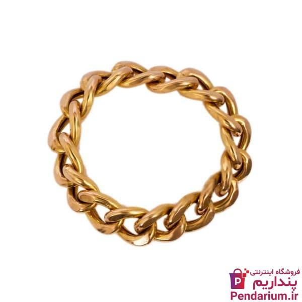 انگشتر طلا بدون نگین با قیمت