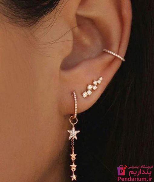 -گوشواره-بخیه-ای-