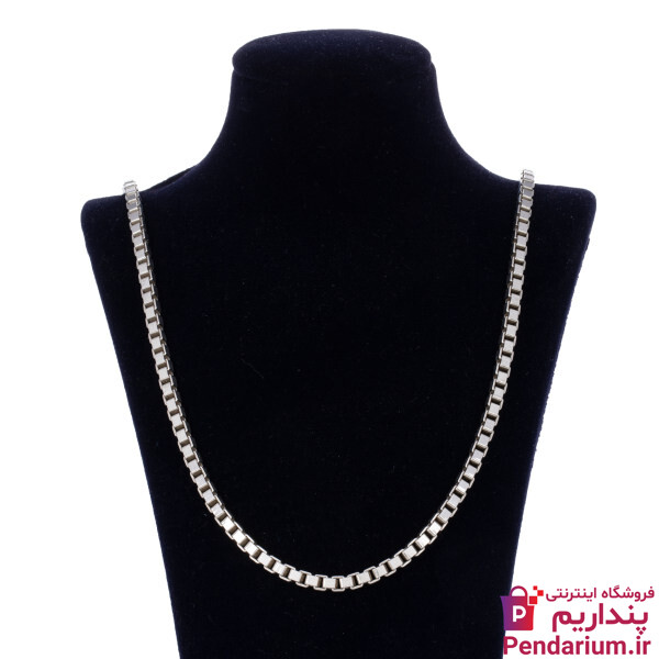 قیمت خرید انواع زنجیر نقره مردانه ارزان